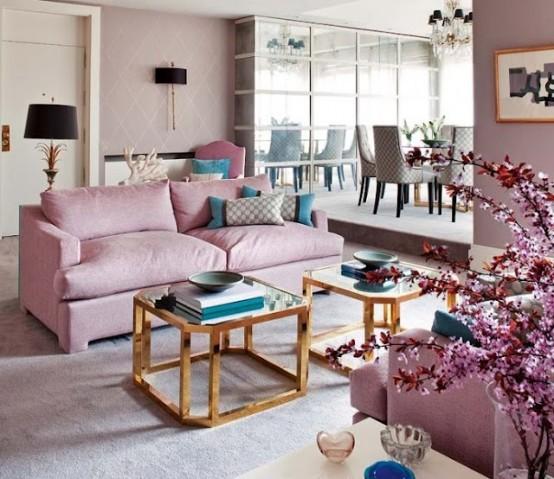 fotogalerie obývacího pokoje