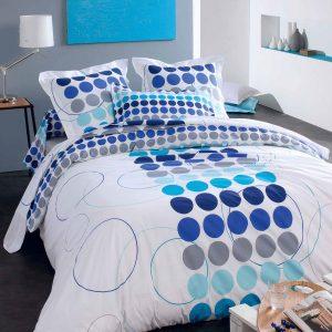 linge-de-lit-Spotty-Blue-tradilinge