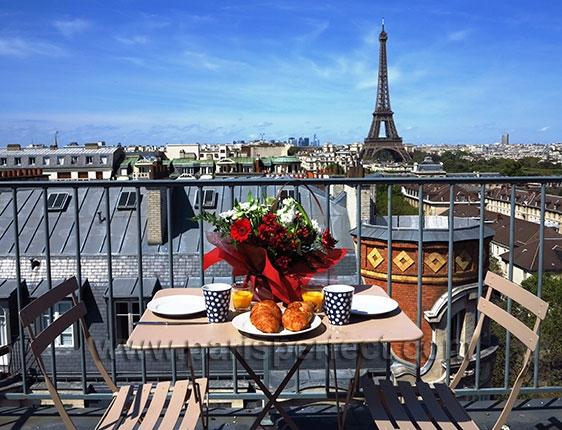 apartmán v centru Paříže