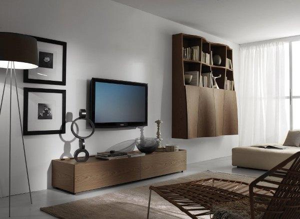 nesymetrický nábytek