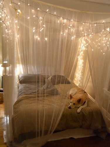 osvětlení v ložnici