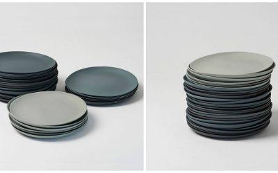 Originální domácnost: Ručně vyráběné talíře