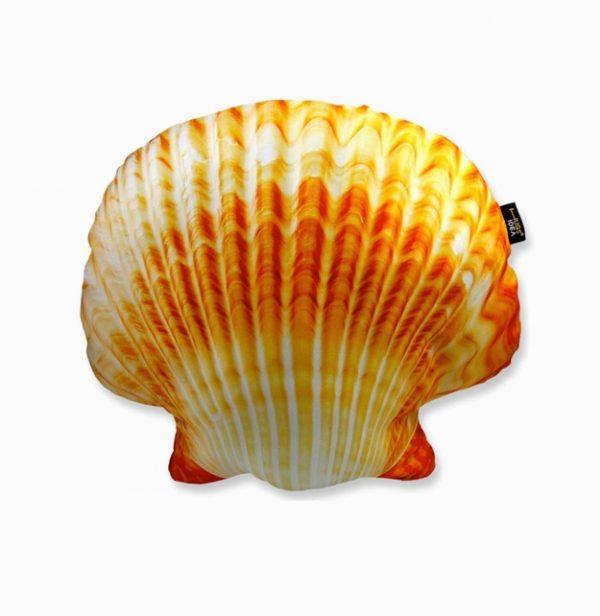 nautical-decor-mermaid-shell-pillow-600x616