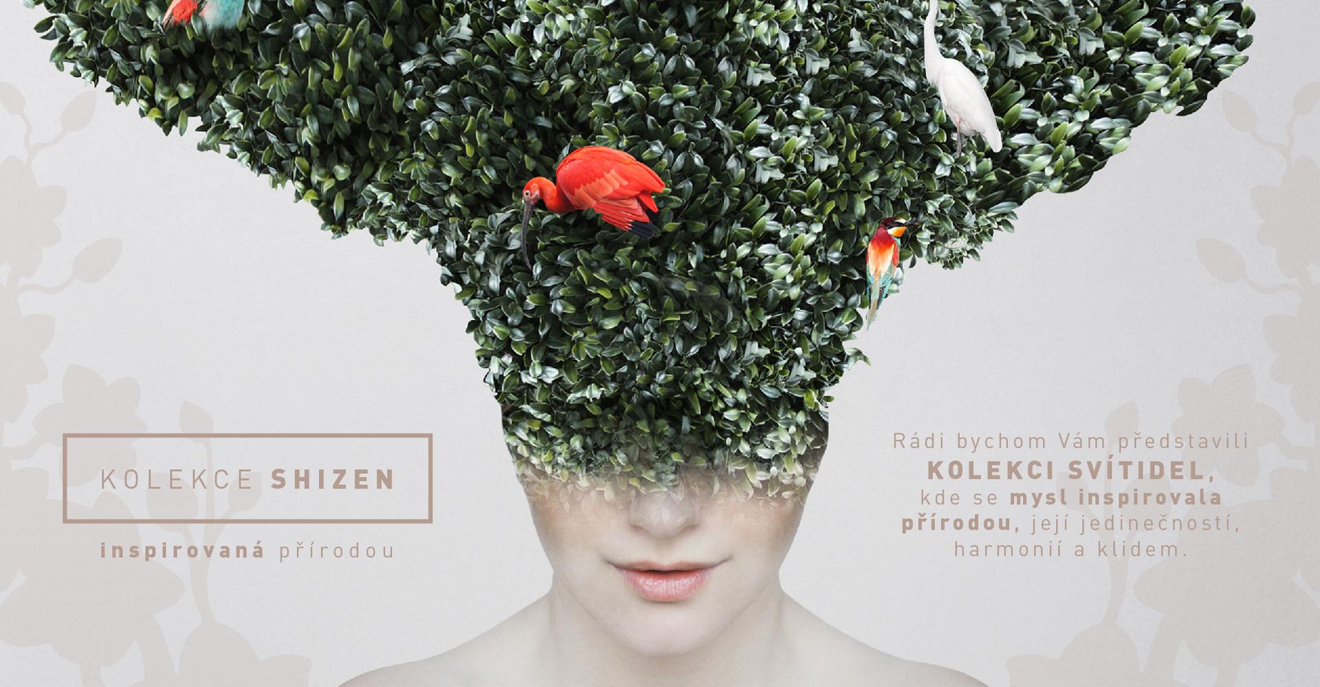 Kolekce svítidel Shizen, kde se mysl inspirovala přírodou